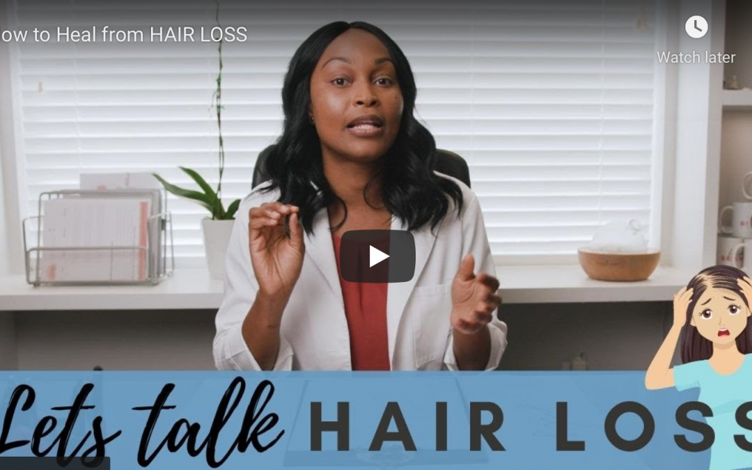 How to Heal from HAIR LOSS