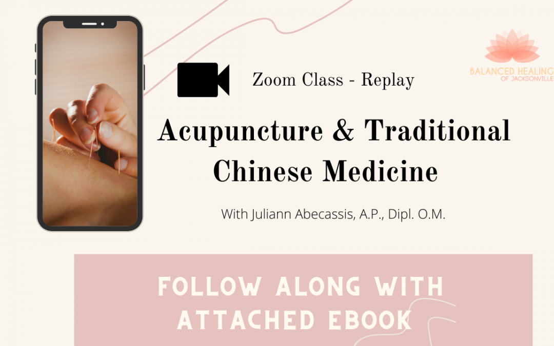 Zoom Class Replay – Acupuncture & Traditional Chinese Medicine!